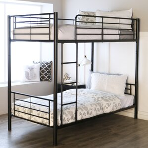 malia twin bunk bed - Bunk Beds Metal Frame