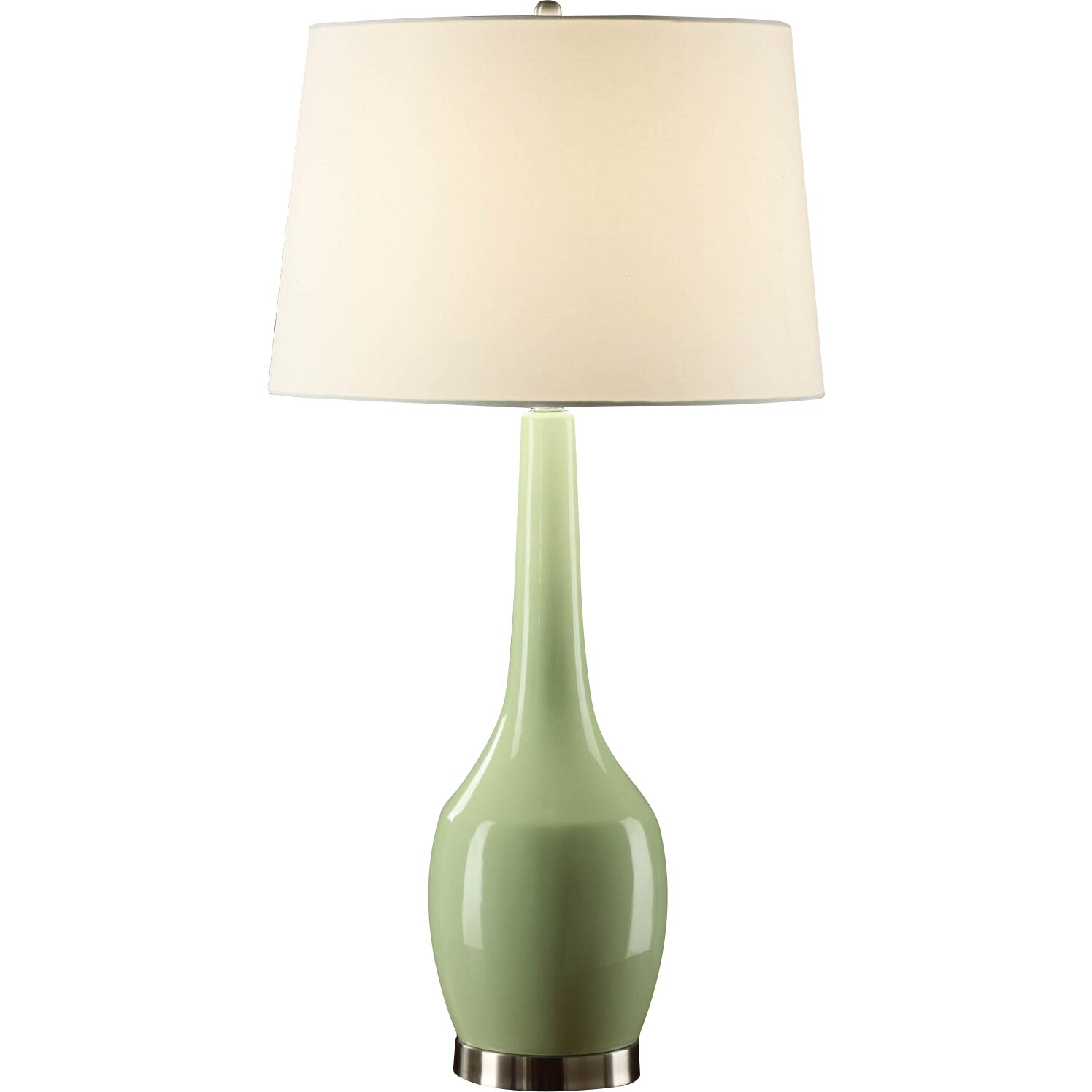 Lime Green Table Lamp -
