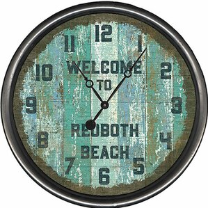 Personalized Welcome To  Circular Wall Clock