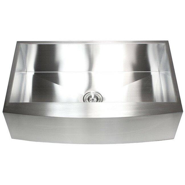 ariel x stainless steel single bowl farmhouse kitchen sink with 36 x 22 kitchen sink  36 x 22 kitchen sink  great dayton elite dropin stainless steel in      rh   colors garden com