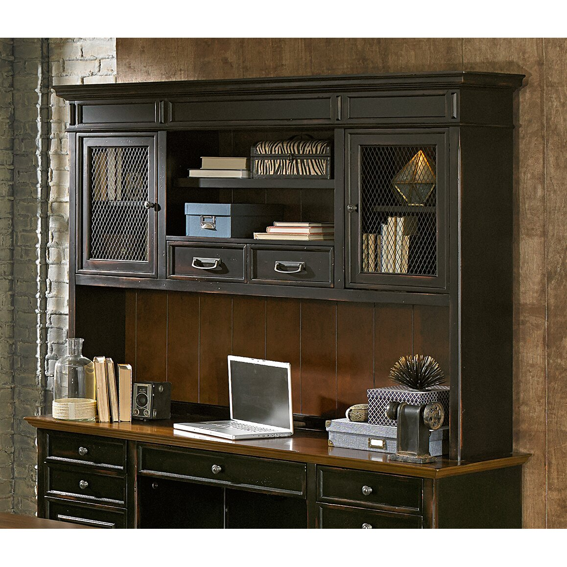 Home Office Sets Painted Office 5 Piece: Kathy Ireland Home By Martin Furniture Hartford 5 Piece
