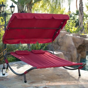 Outdoor Lounge Chairs Youll Love Wayfair - Double chaise lounge outdoor furniture