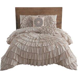 ruffled bedding sets you'll love | wayfair