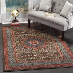 Good Alto Blue/Red Area Rug