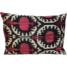 Pomegranate Velvet Lumbar Pillow