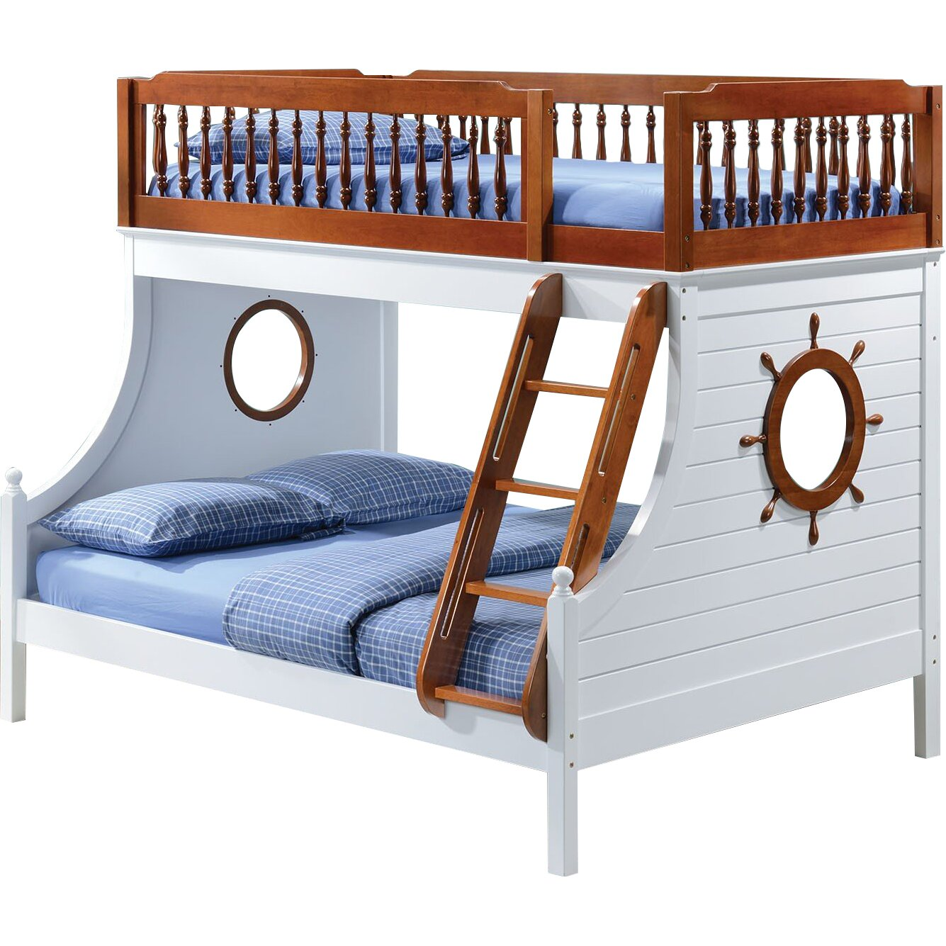 Infini Furnishings Captain Twin Over Full Bunk Bed