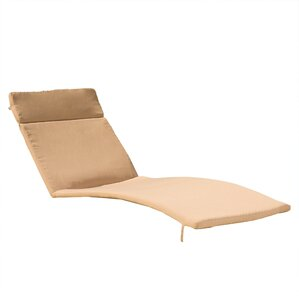 Noriko Outdoor Chaise Lounge Cushion (Set Of 2)