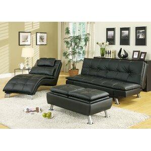 sleeper sofa living room sets you'll love | wayfair