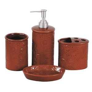 Bathroom Set Red Amazing  Fascinating Red Bathroom Accessories - Red bathroom accessories sets