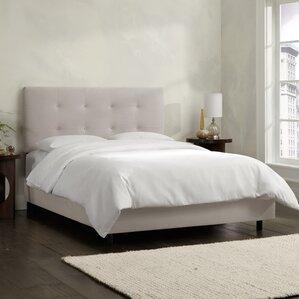 Upholstered Panel Bed. Upholstered Panel Bed. By Skyline Furniture