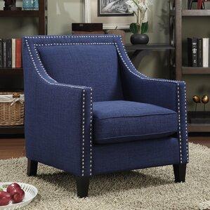Blue Accent Chairs You\'ll Love | Wayfair
