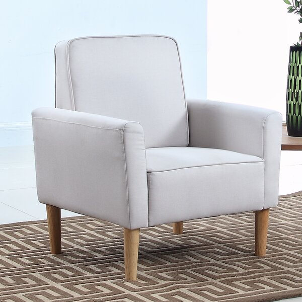 Madison Home USA Mid Century Modern Fabric Living Room Armchair U0026 Reviews |  Wayfair