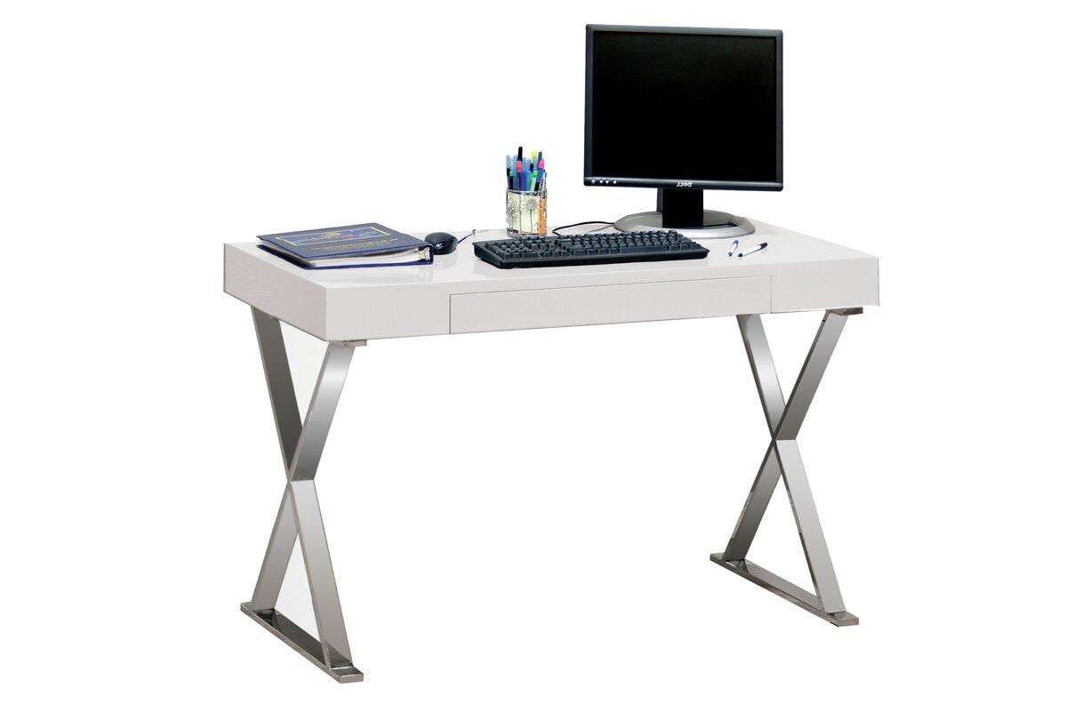 bestmasterfurniture modern writing desk  reviews  wayfair - defaultname
