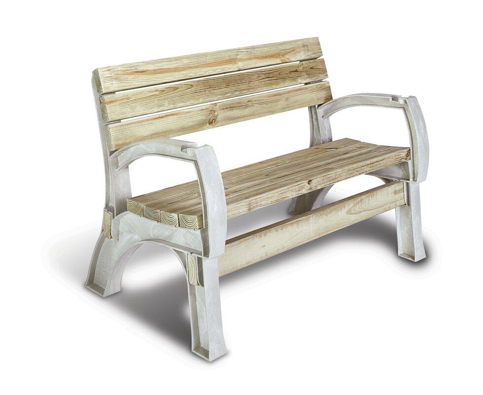 Freeport Park Mya Anysize Natural Chair Bench Kit Reviews