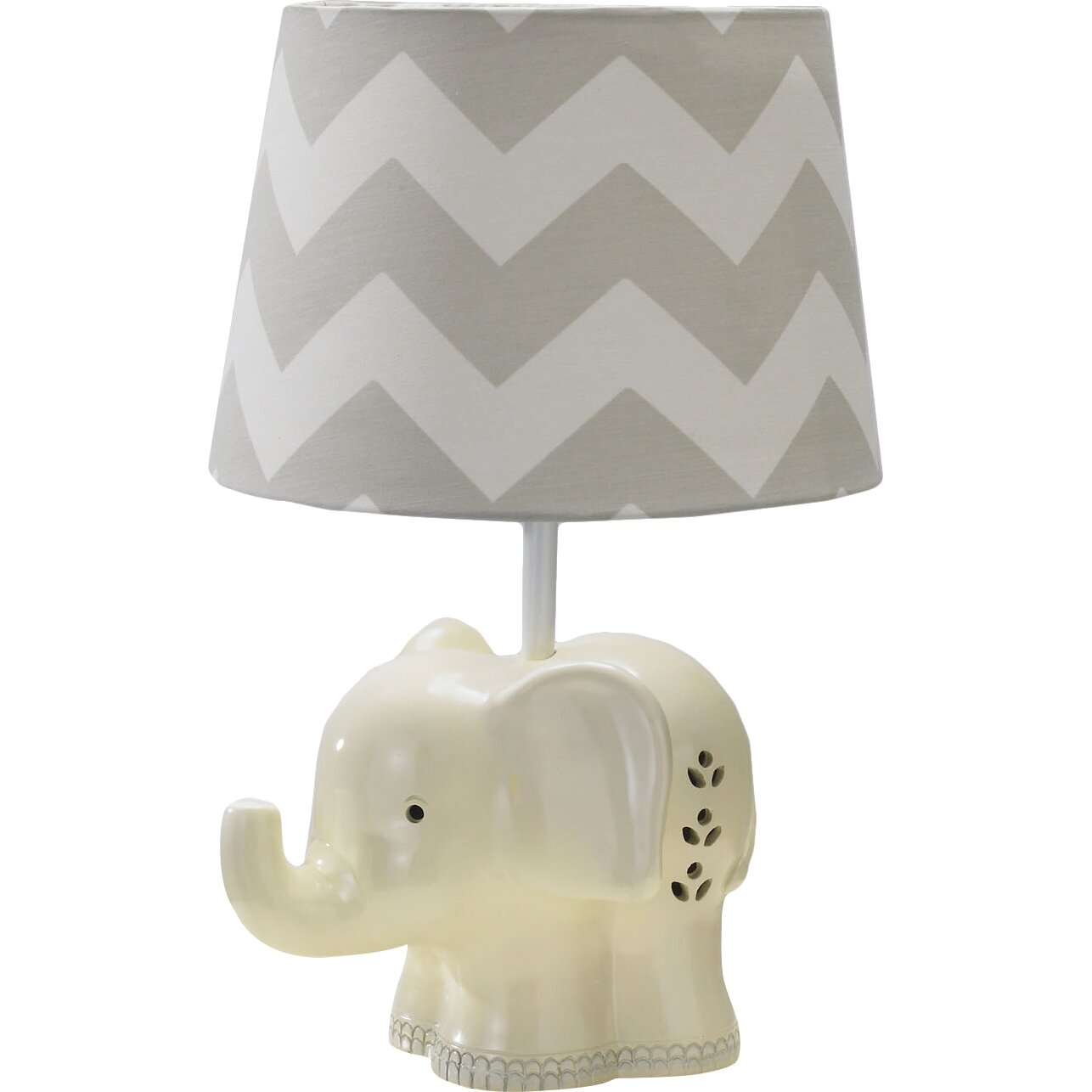 Lolli living elephant 7quot h table lamp base reviews for Table lamp elephant base