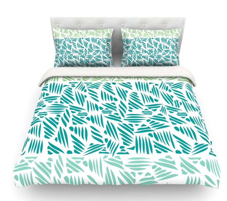 East Urban Home Bamboo By Pom Graphic Design Featherweight Duvet Cover