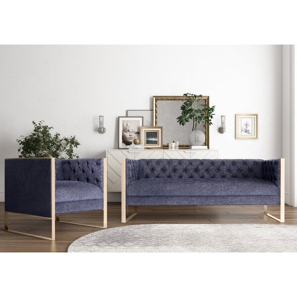 Willa Arlo Interiors Hilltop 2 Piece Living Room Set & Reviews ...