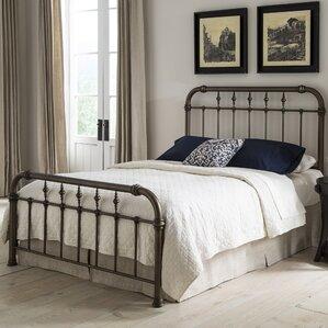 analleli metal frame panel bed - Frame For Bed