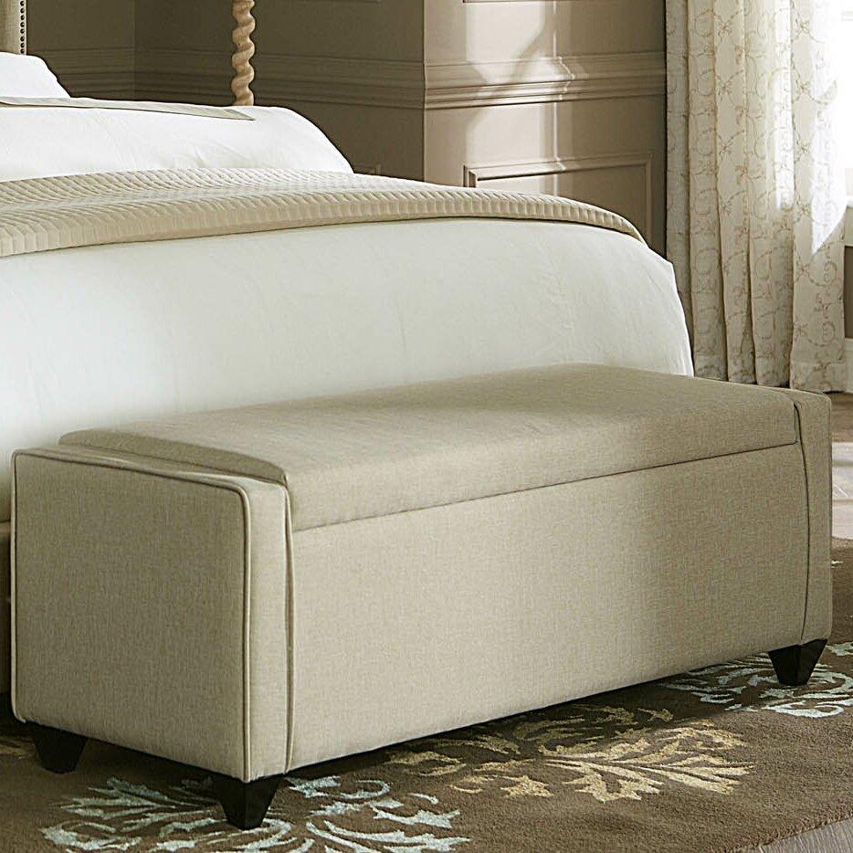 Liberty Furniture Upholstered Storage Bedroom Bench  Reviews - Storage for bedroom