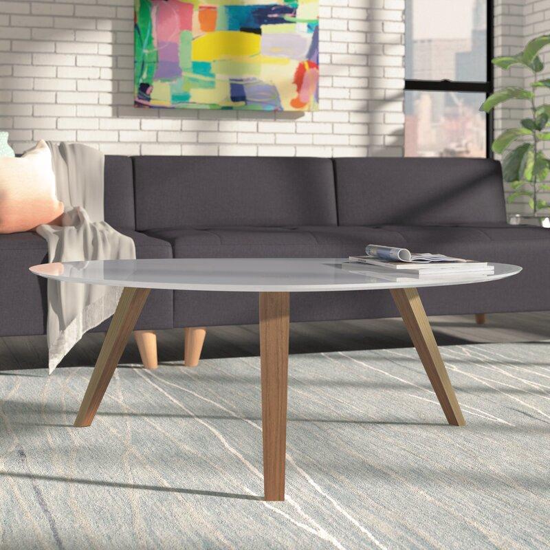 free form coffee tables you'll love   wayfair
