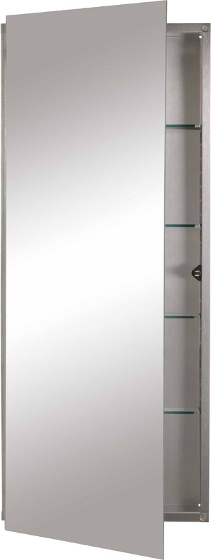 Jensen 15 Quot X 36 Quot Recessed Medicine Cabinet Amp Reviews Wayfair