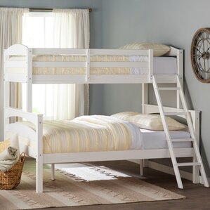 sienna rose twin over full bunk bed - Loft Bed Frame Full