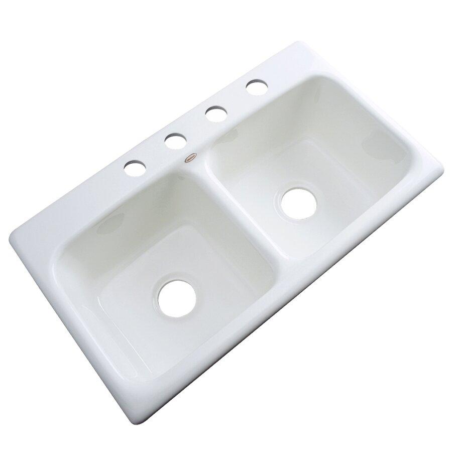 """Kitchen Sink 19 X 33: Solidcast Portland 33"""" X 19"""" Kitchen Sink & Reviews"""