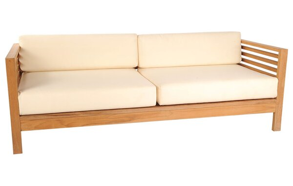 HiTeak Furniture Summer Sofa With Cushions U0026 Reviews   Wayfair