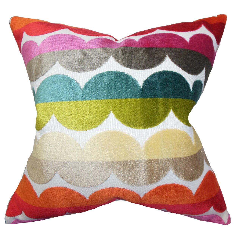 xois geometric throw pillow  reviews  allmodern - xois geometric throw pillow