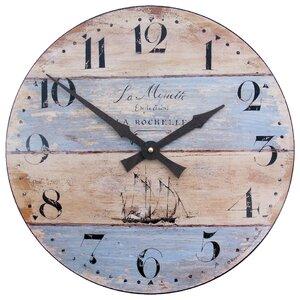 Garrisons 36cm Driftwood Effect Wall Clock