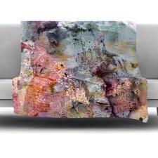 Floating Colors Fleece Throw Blanket