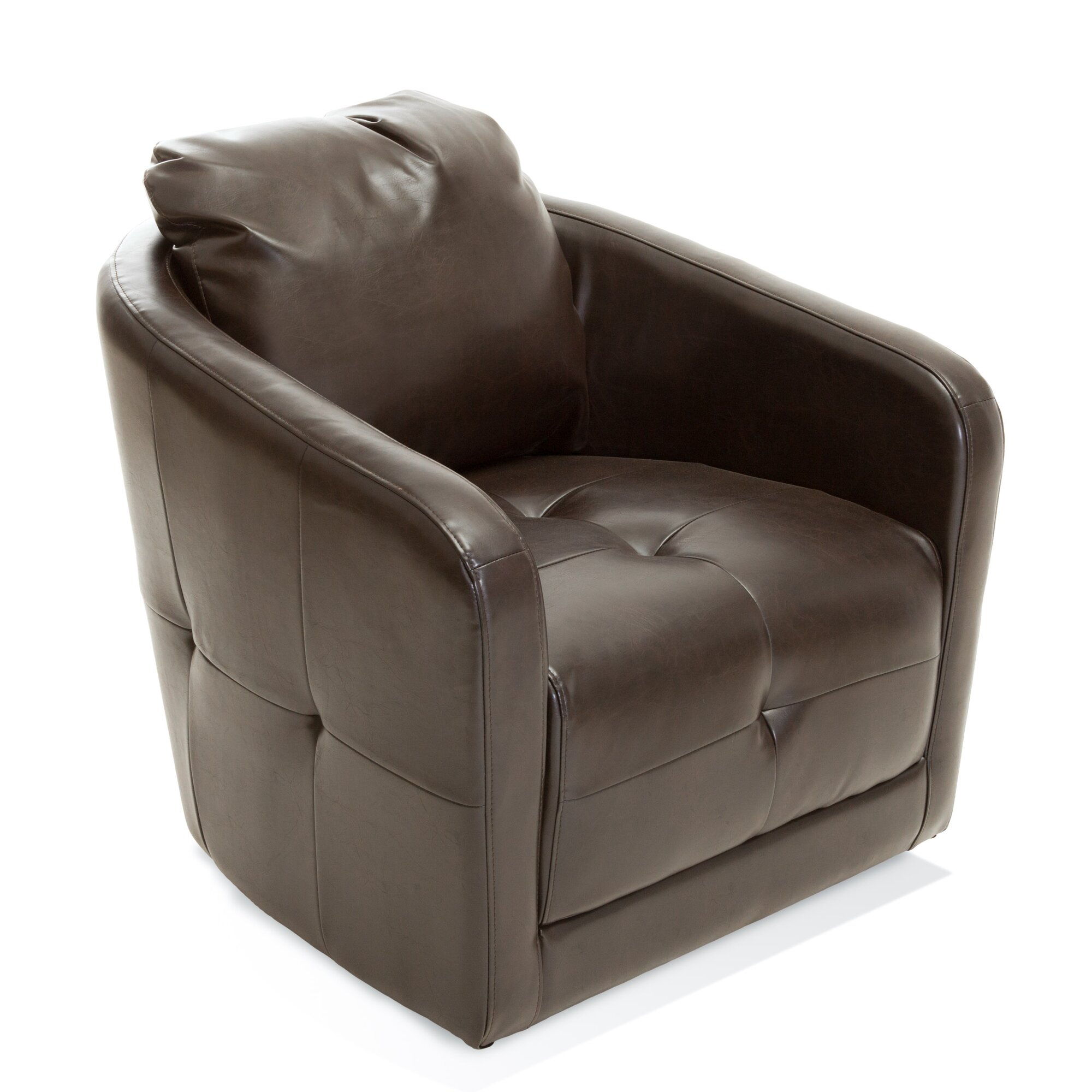 furniture seating armchairs amp club chairs berkeley swivel club chair home loft concepts concordia swivel