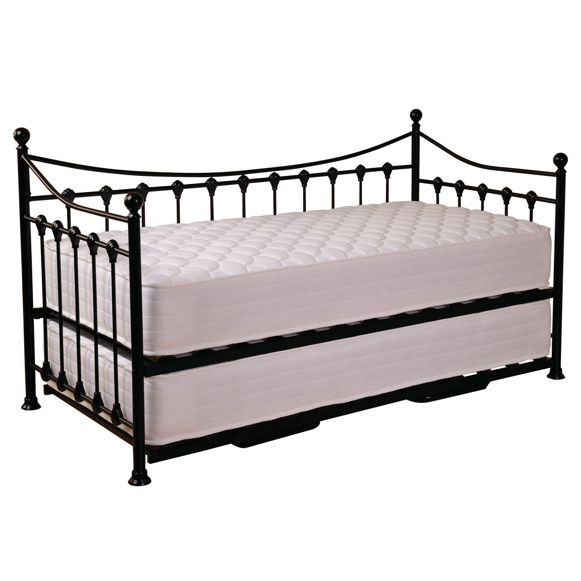 All Home Skiros Trundle Day Bed Frame Reviews Wayfaircouk