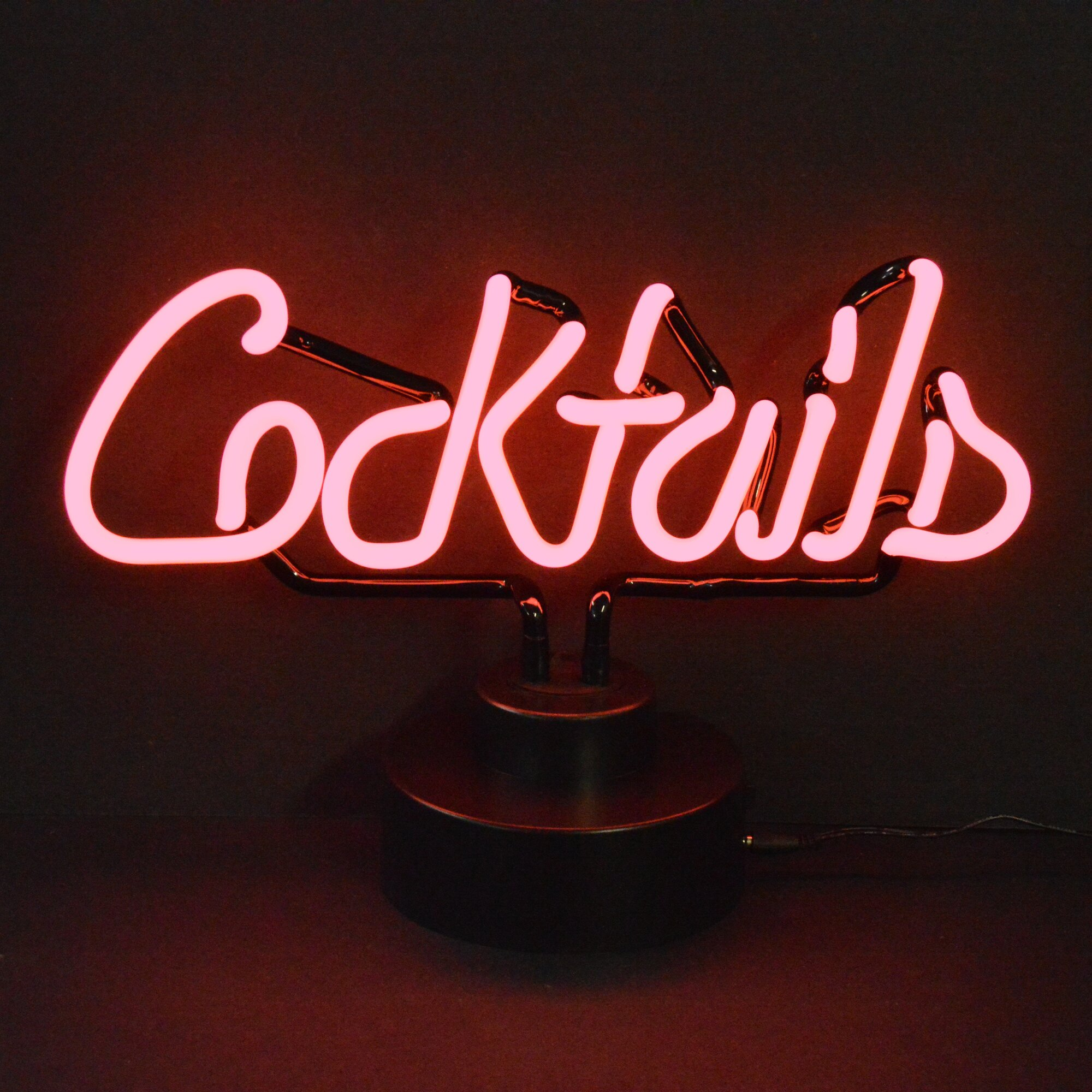 neon cocktails sign signs business neonetics