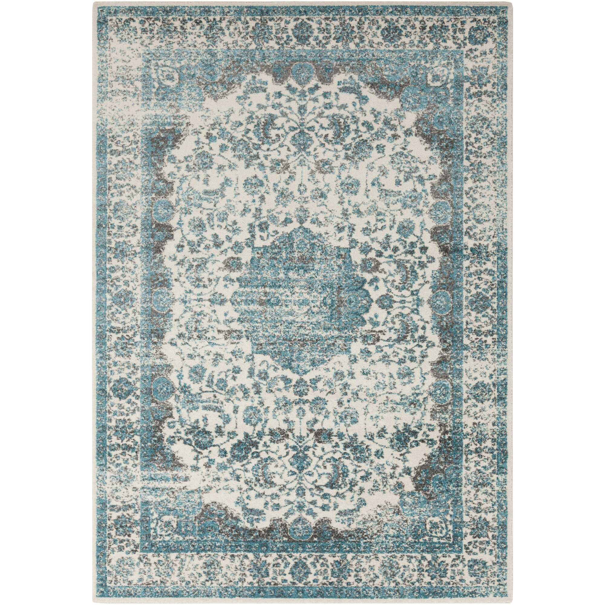 rug teal Home Decors Collection