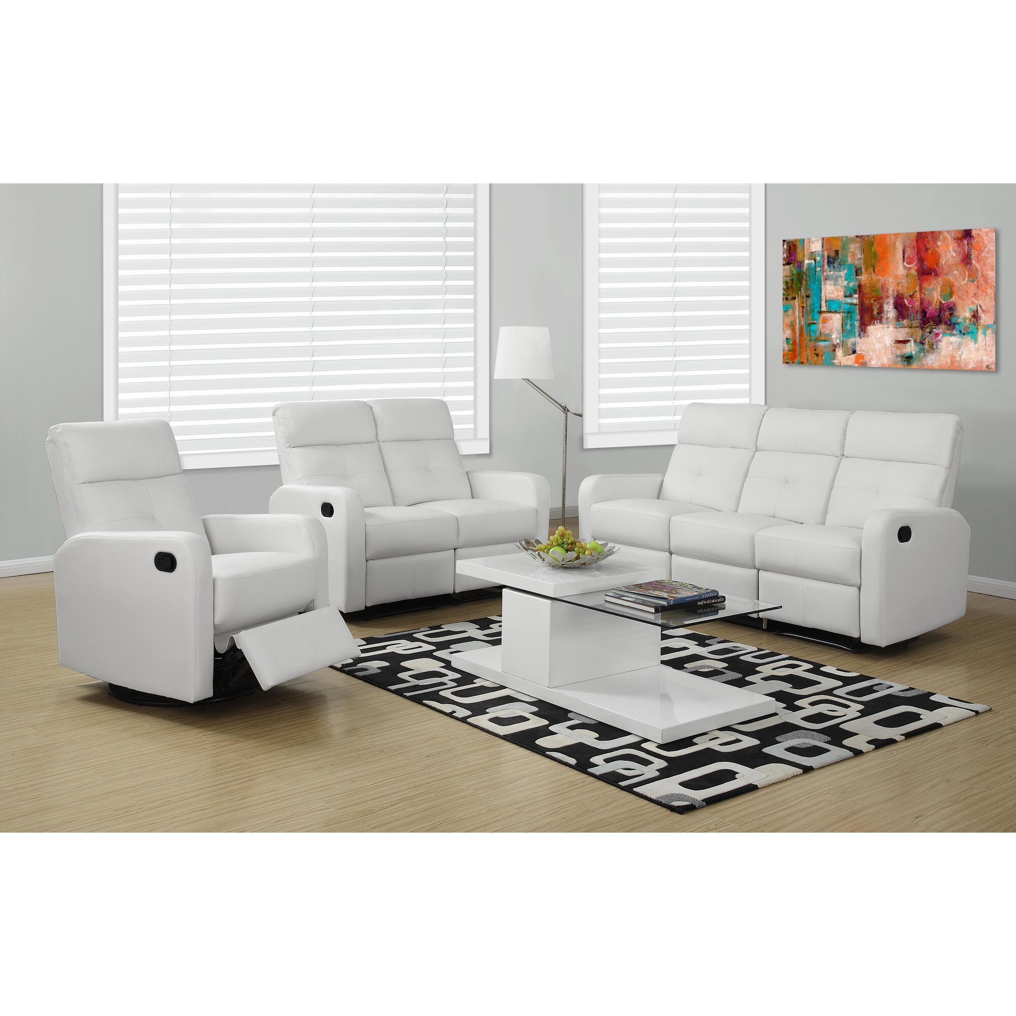 Monarch Specialties Inc Reclining Sofa Reviews Wayfair