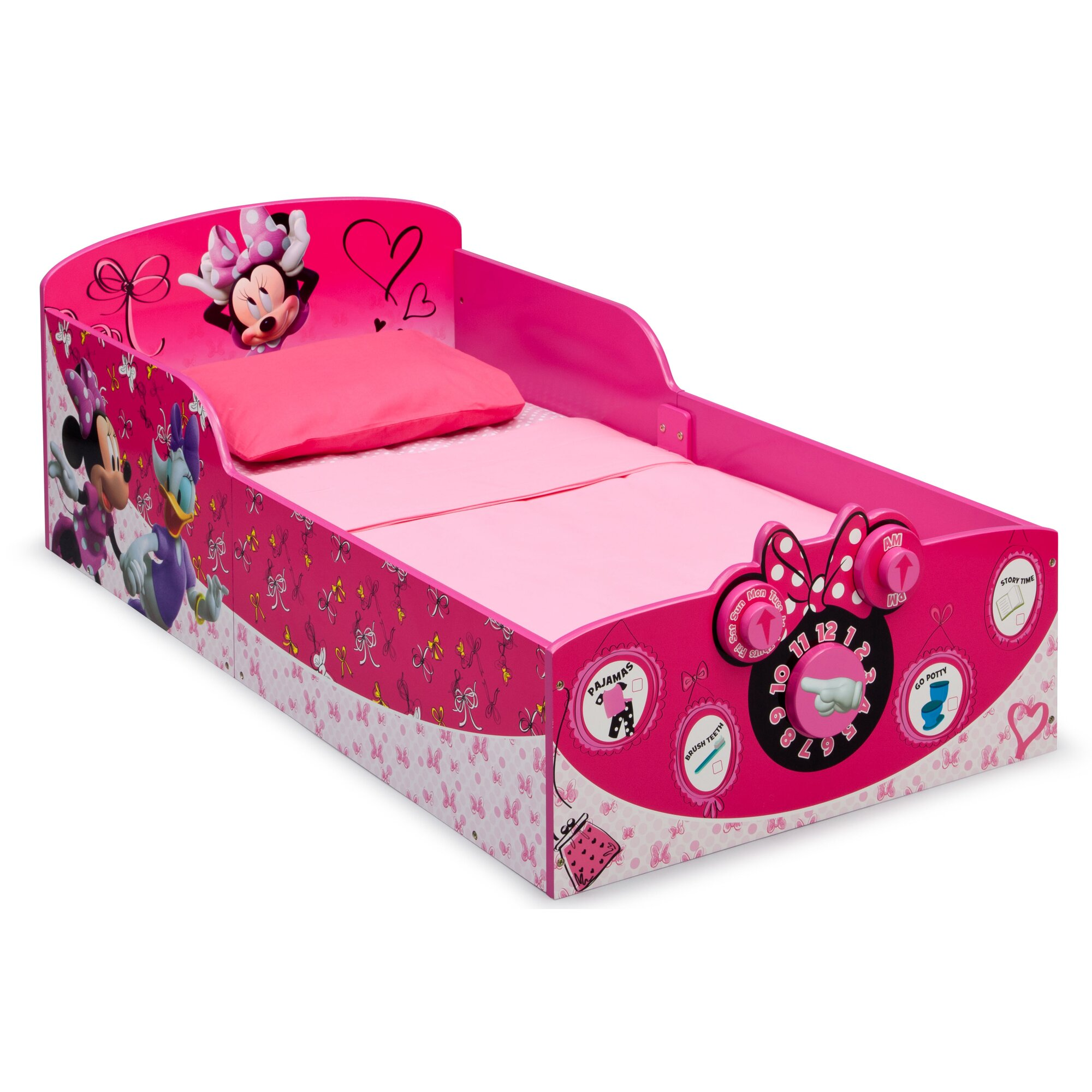 Delta Children Minnie Mouse Toddler Bed Reviews Wayfair