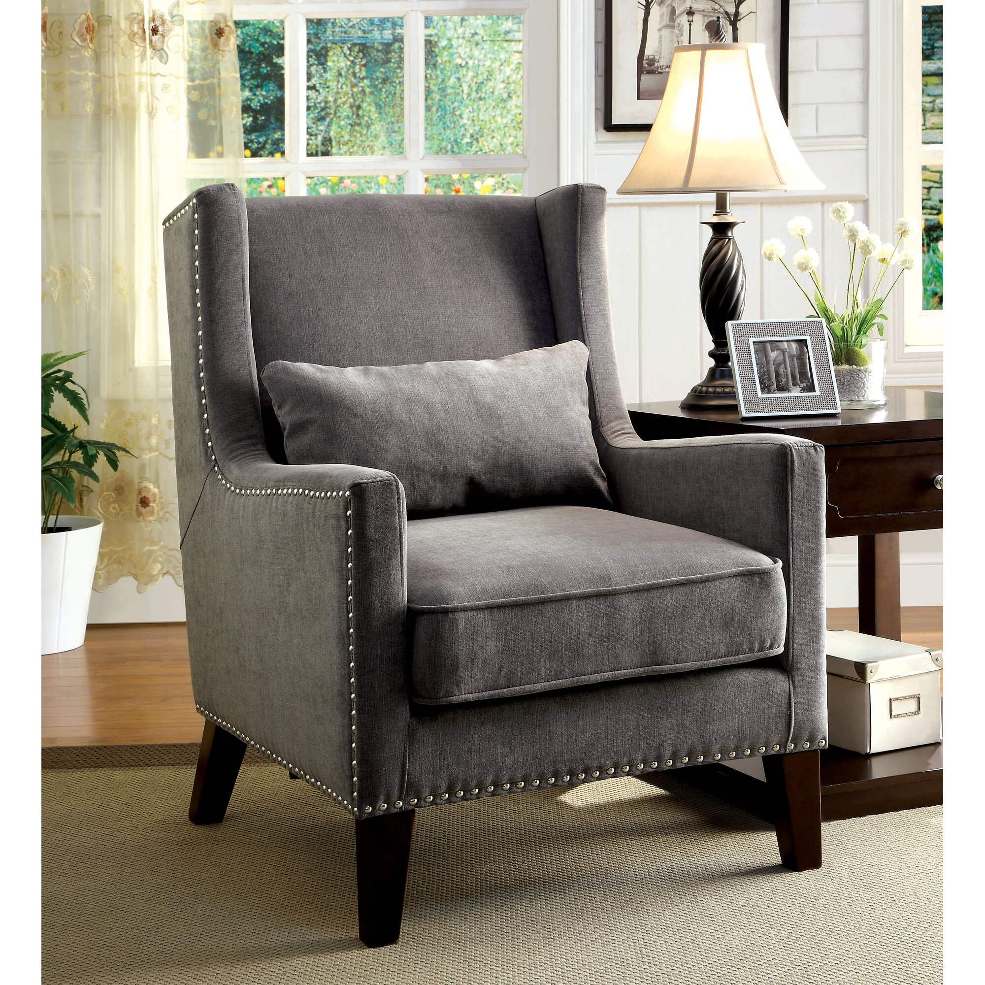 Wingback Recliners Chairs Living Room Furniture Living Room