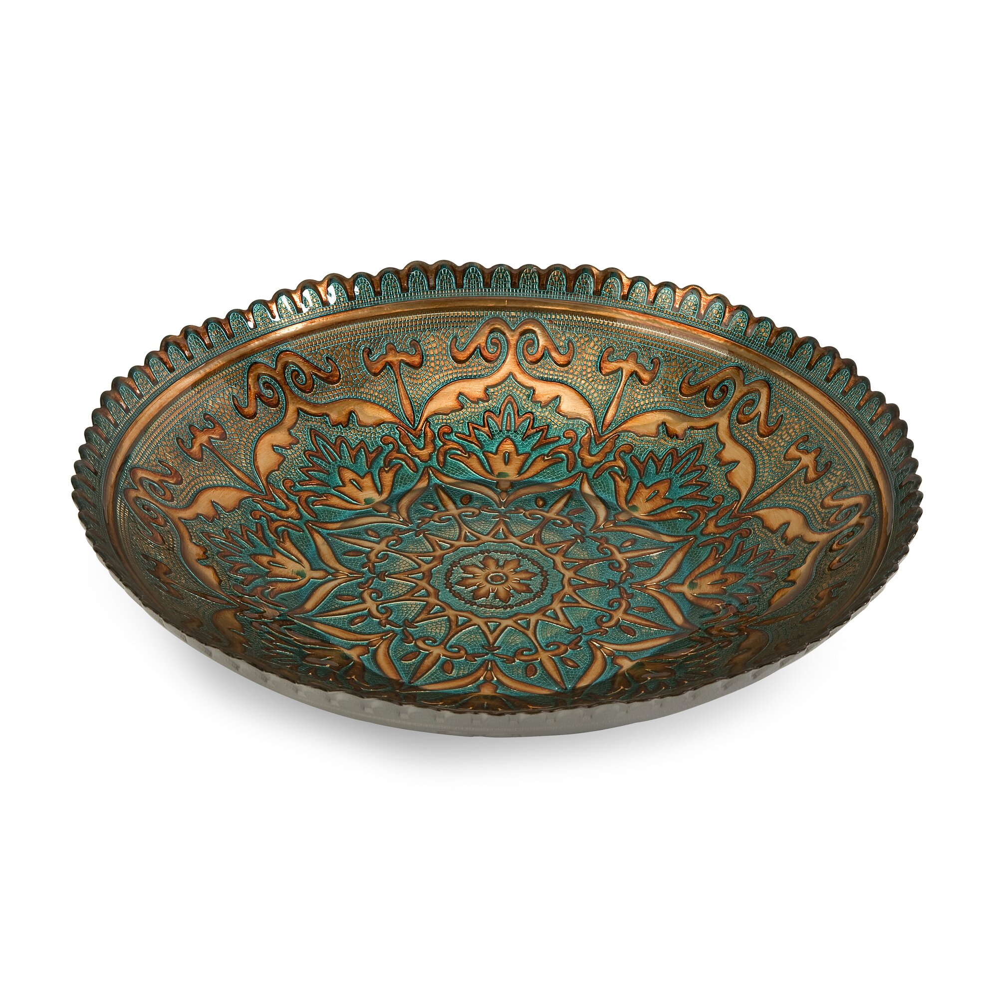 ravenna glass decorative bowl - Decorative Glass Bowls