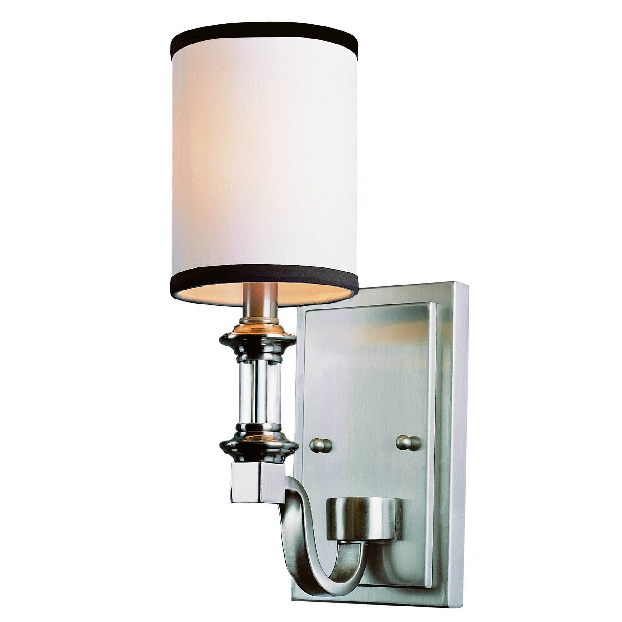 Traditional Wall Sconce With Switch : TransGlobe Lighting Modern Meets Traditional 1-Light Wall Sconce & Reviews Wayfair
