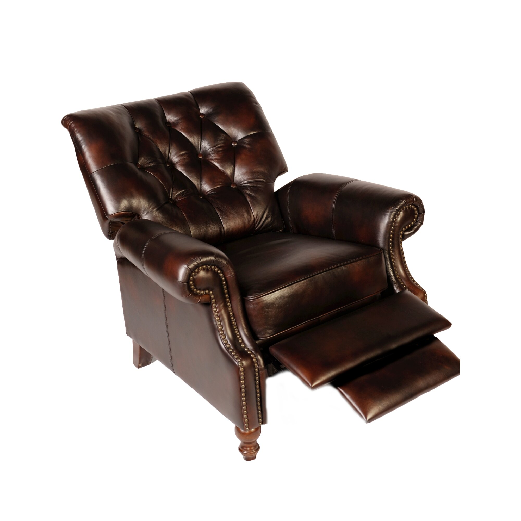 Lazzaro Leather Leather Recliner Amp Reviews Wayfair