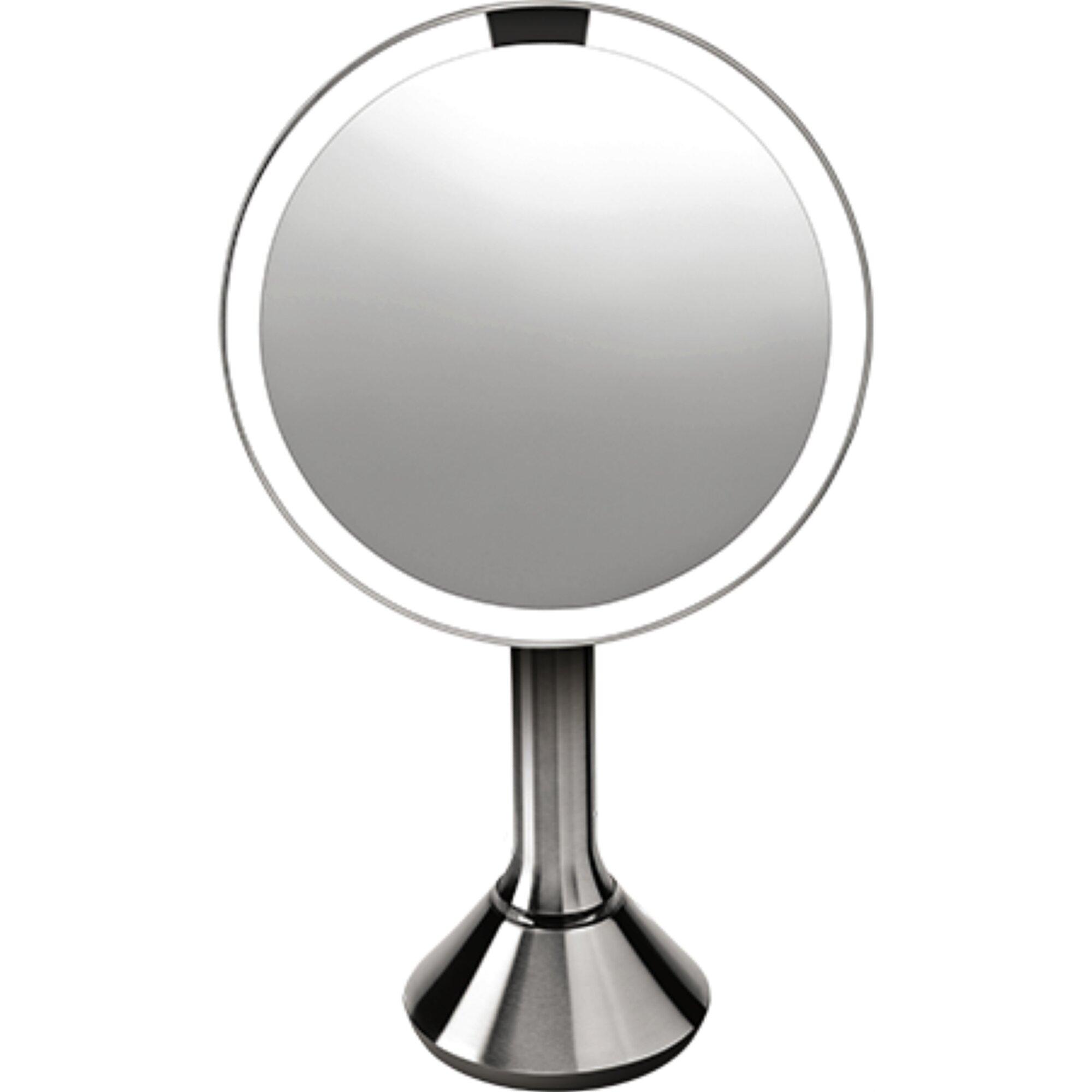 Simplehuman Lighted Sensor Activated Magnifying Vanity Makeup Mirror -  Mugeek Vidalondon. «