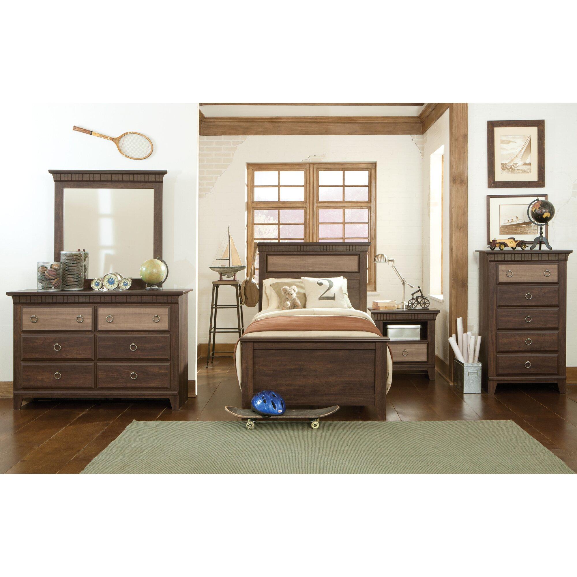 Standard Furniture Weatherly Panel Customizable Bedroom Set ...