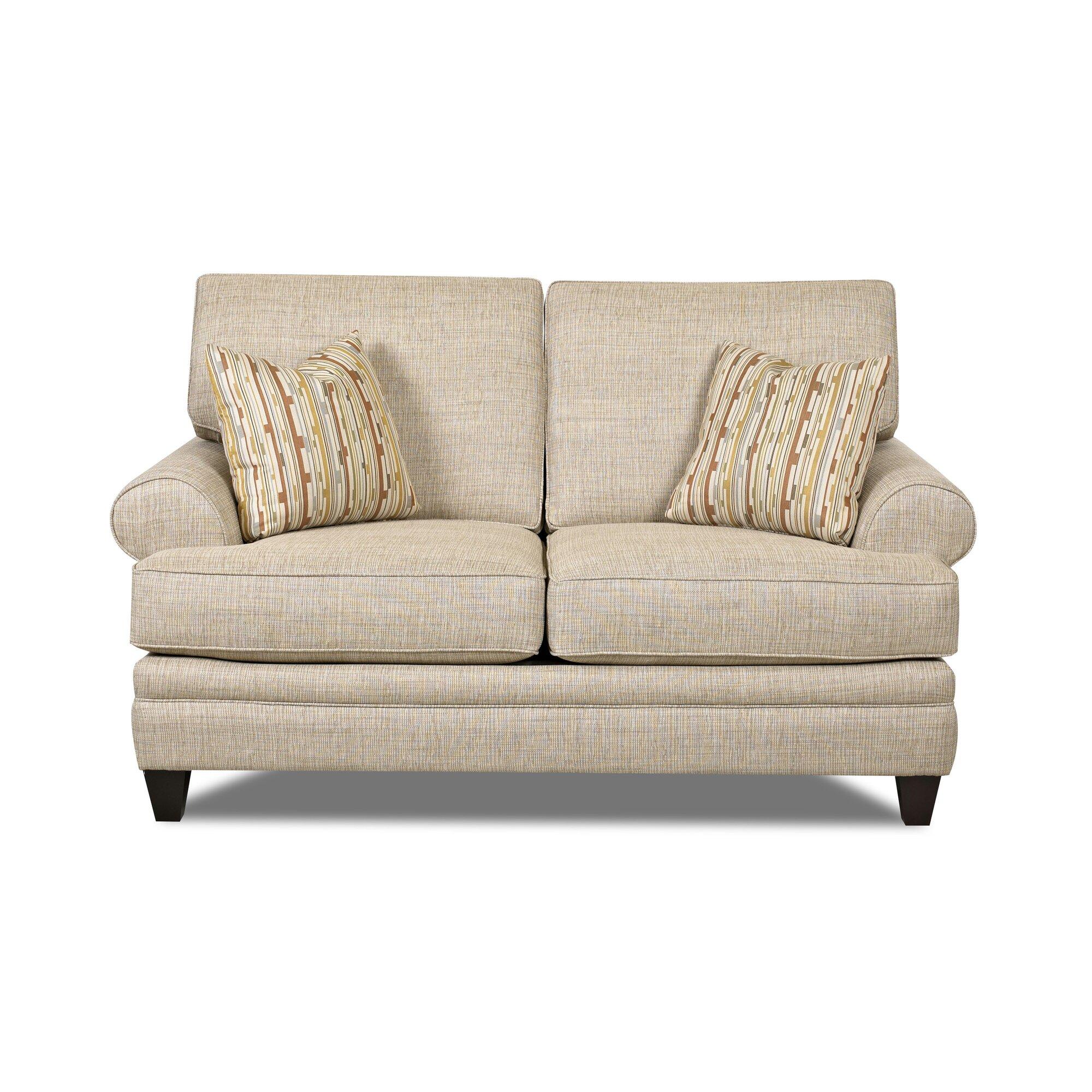 Klaussner Furniture Clayton Loveseat Wayfair