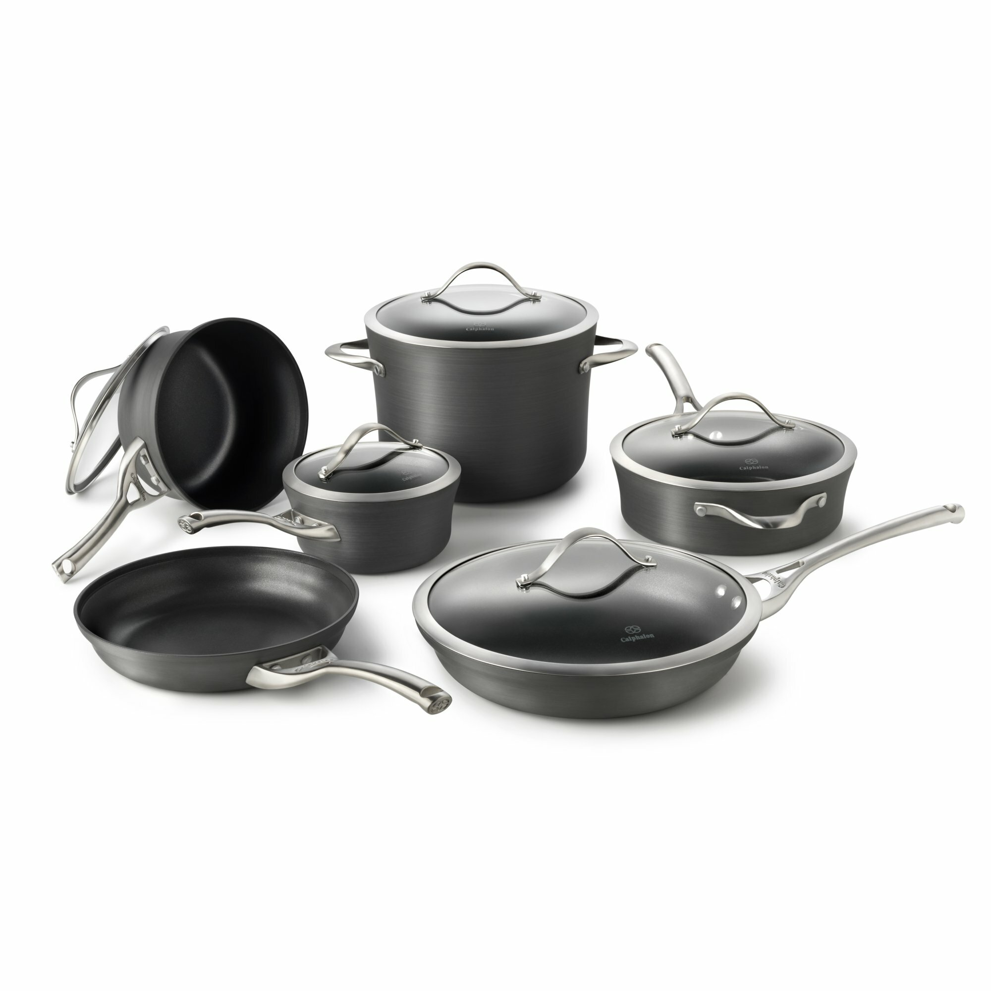 Calphalon Contemporary Nonstick 11 Piece Cookware Set & Reviews ...
