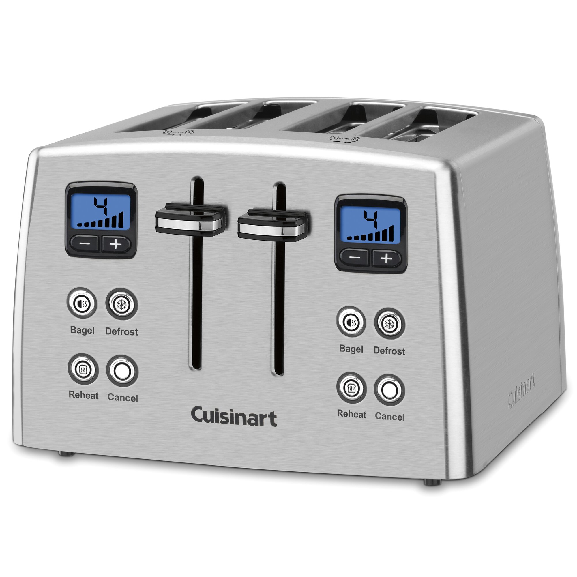 Cuisinart Compact 4 Slice Toaster Cuisinart Classic Series 4 Slice Compact Toaster & Reviews ...