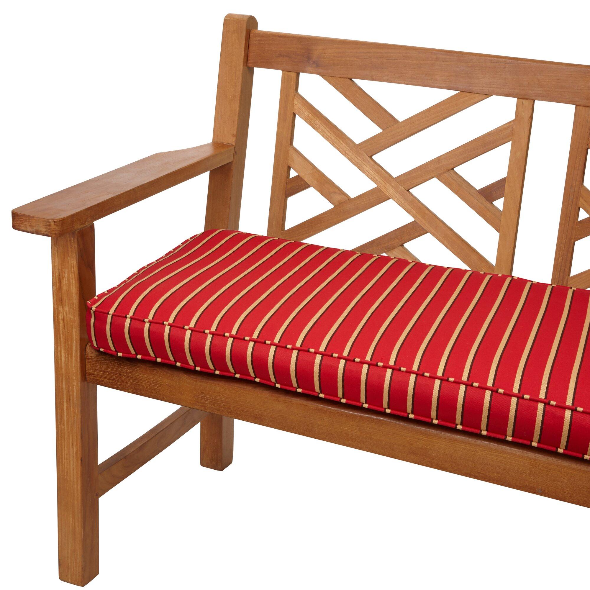 Mozaic Company Outdoor Sunbrella Bench Cushion Reviews