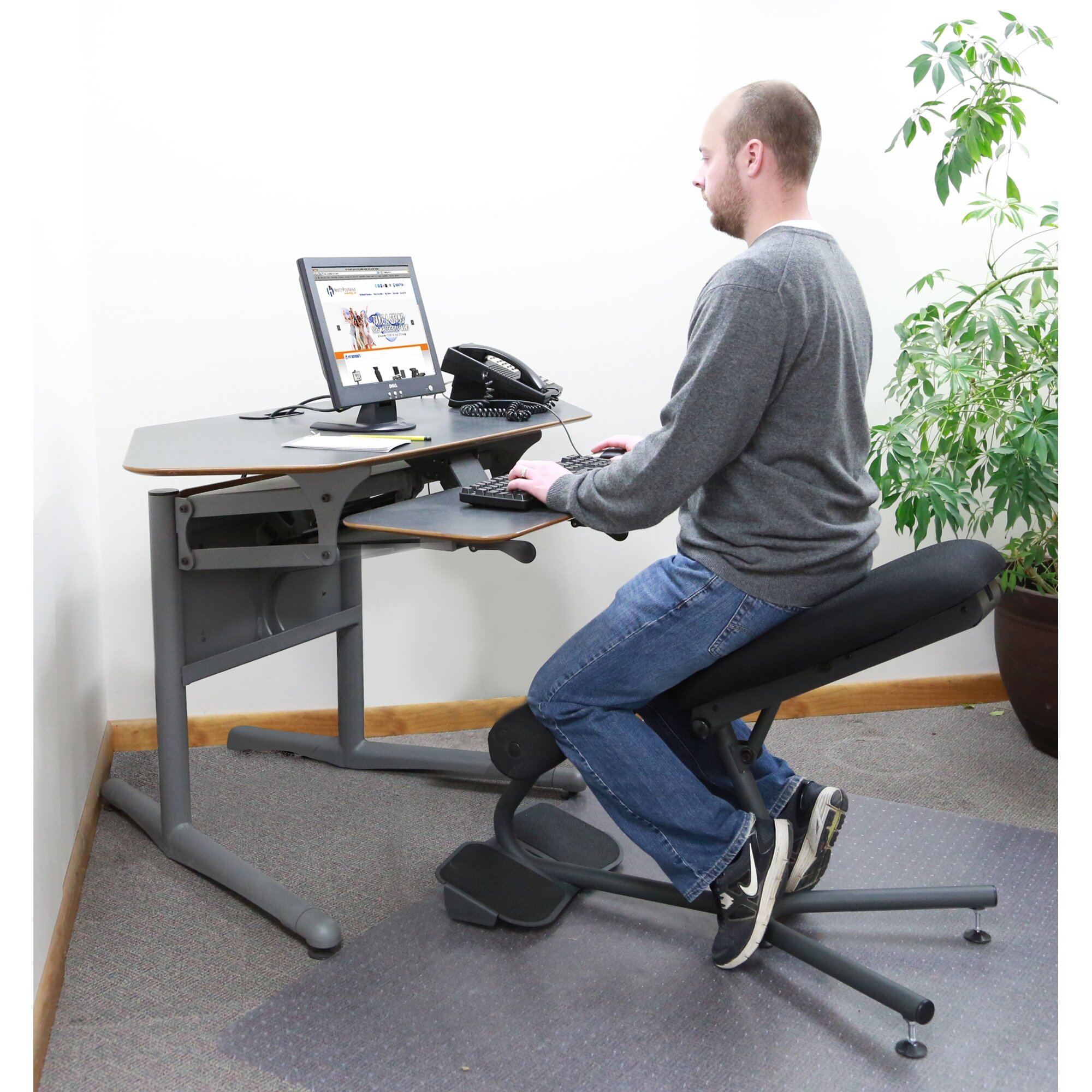 Backless Chair With Knee Rest Free Ergonomic Work Chair Google