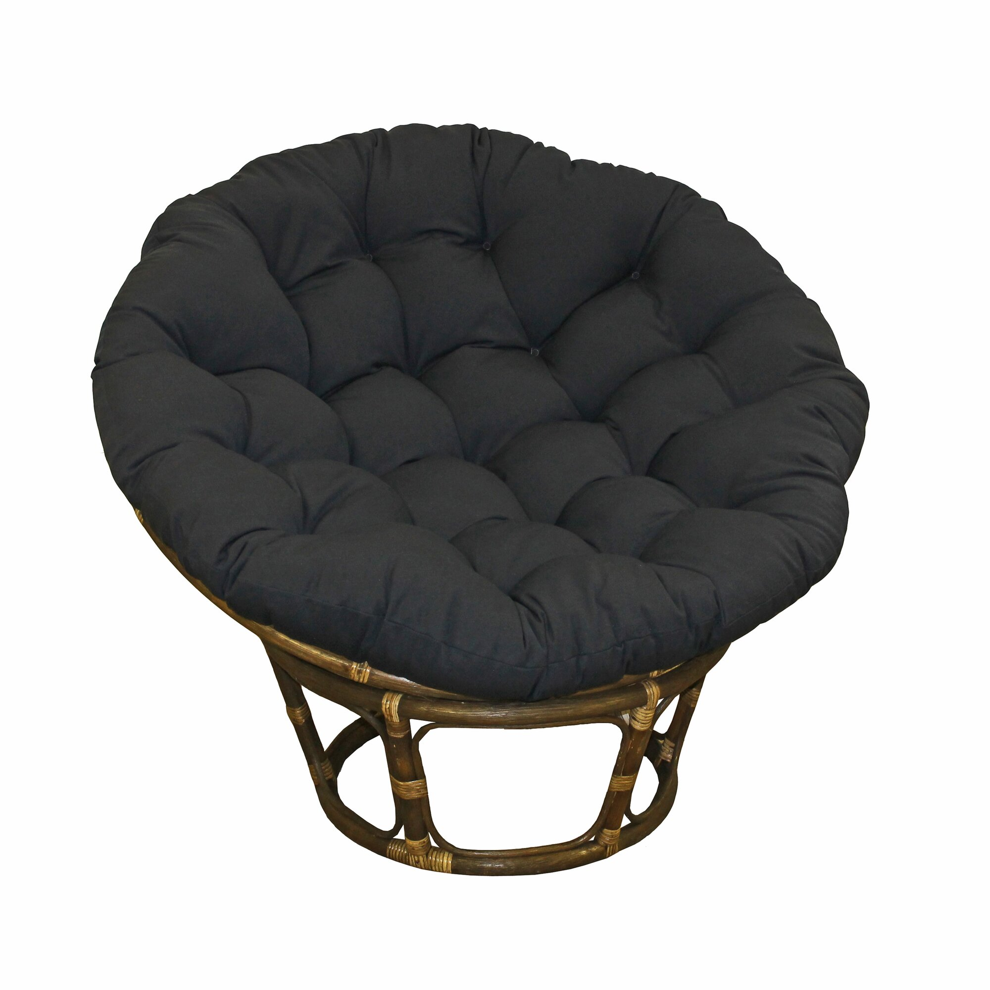 Blazing Needles Papasan Lounge Chair Cushion Amp Reviews