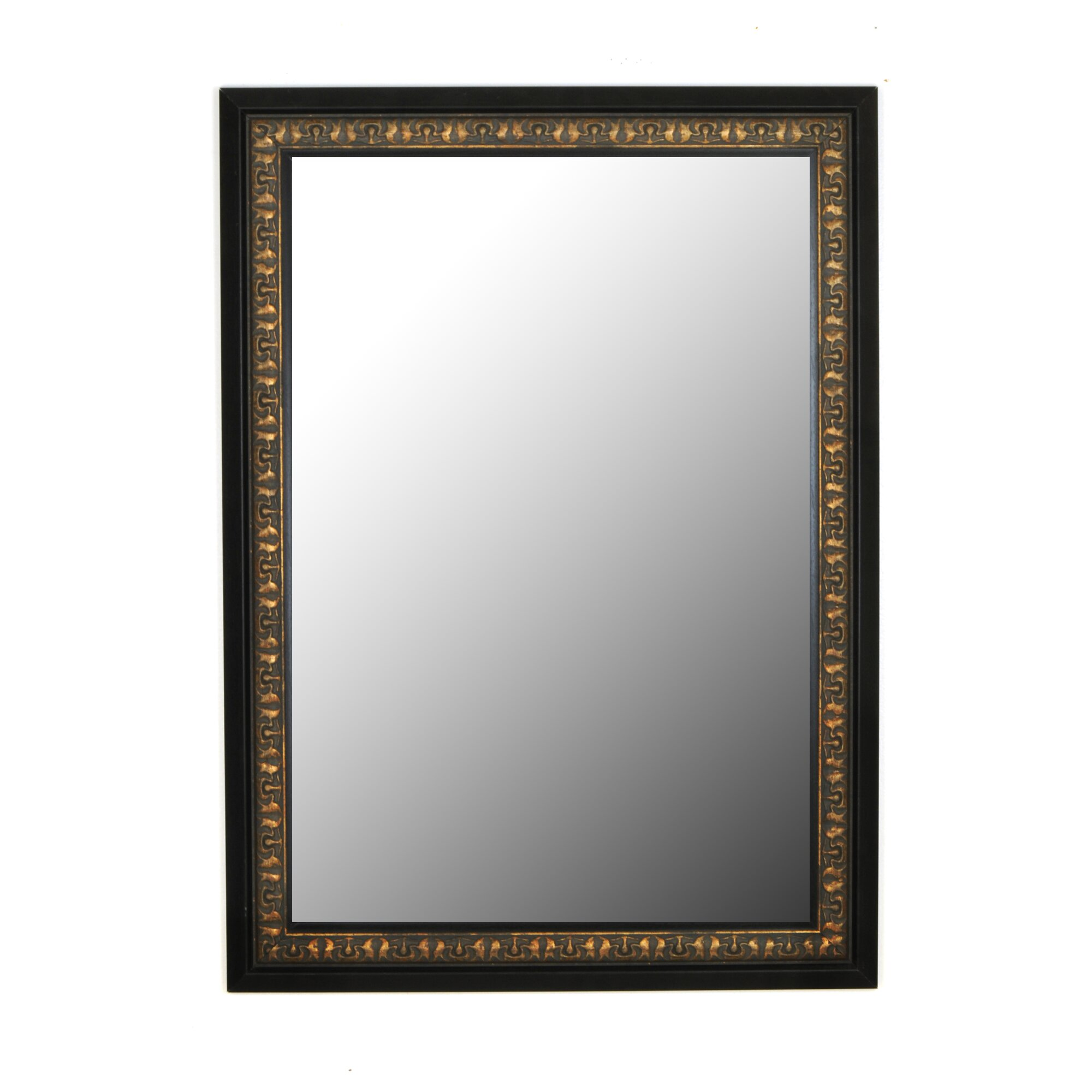 Second Look Mirrors Mumbai Vintage Copper Black Surround